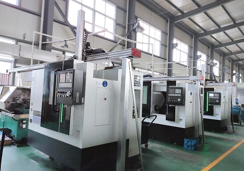 CNC Automatic Turning Machine