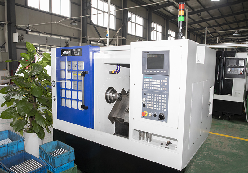 CNC Slant-Bed Turning Machine