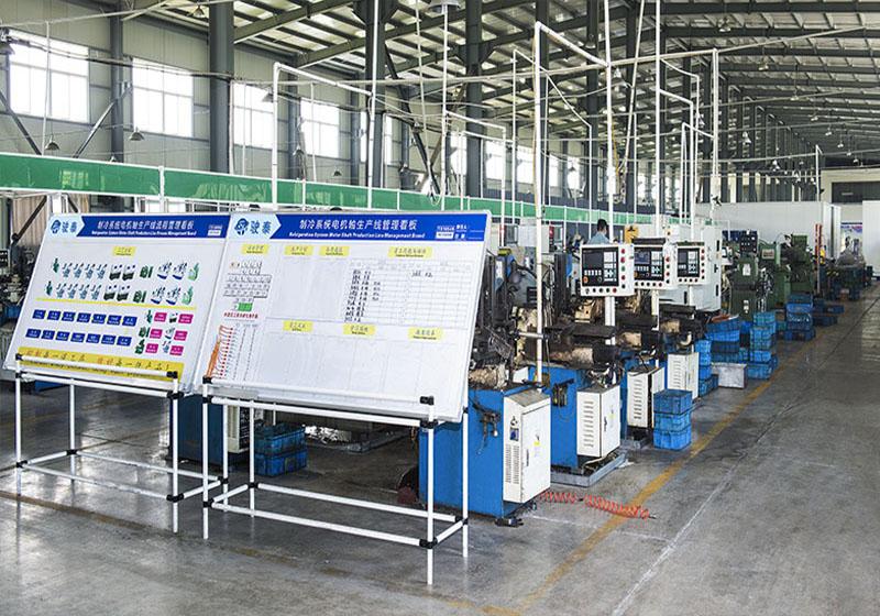 Refrigeration System Motor Shaft Production Line